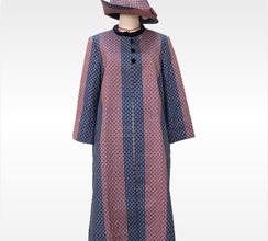モダンな大島紬を変身させたスプリングコート