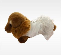 シアワセ分かち合う真っ白なウエディングドレス
