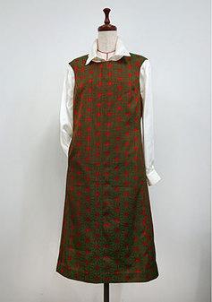 着物をリメイクしたジャンパースカート(3104)