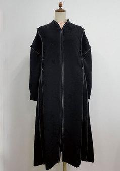 レインボーステッチのコートドレス(3110)