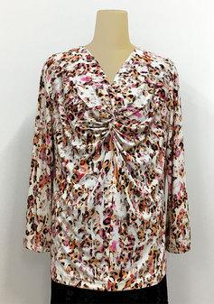 ニットで着やすいクロスTシャツ(0207)
