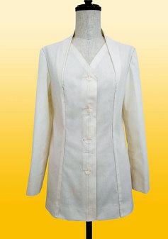衿が前脇身頃から後ろにつながったジャケット(0302)